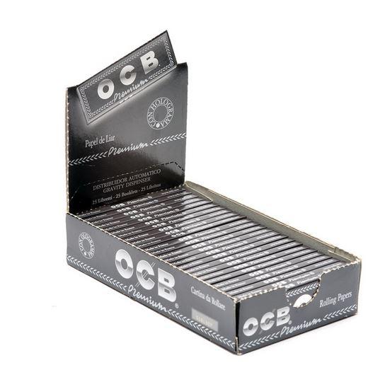 Ocb Premium 1 1 4 Rolling Papers 79mm Box Of 25 Packs