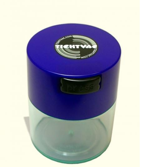 Pocket Size AirTight WaterProof Storage 0.06 Liter Container From TightVac