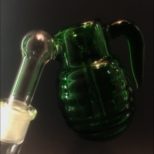 Glass Hand Grenade Ash Catcher
