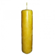 Handmade Beeswax Church Pillar Candle 2.5 x 6.5 Inch