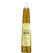 11 Inch Handmade Beeswax Taper Candle ( 1 Pair)