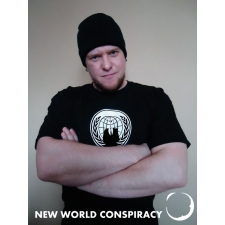 Anon Men's T-Shirt from New World Conspiracy