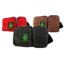 Hemp Hip Hugger Bag for People On-The-Go by Dime Bags