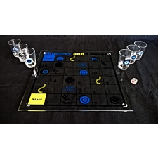 Fifth Avenue Crystal Shooters and Ladders Drinking Game