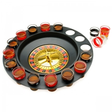 Drinking Game Shot Glass Roulette - Ready Set Bet