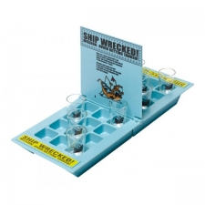 Drinking Game Ship Wrecked Based on the Battleship Game