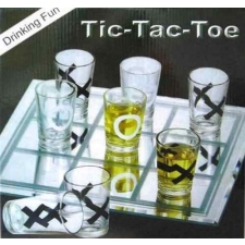 Drinking Fun with Tic-Tac-Toe Drinking Game