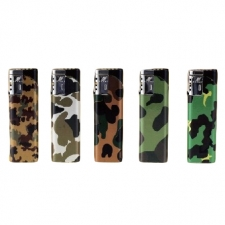 Camo Refillable Torch Lighter from Duco