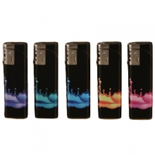 Rain Drops Refillable Torch Lighter from Duco