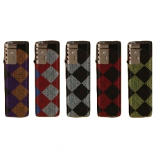 Checkered Refillable Torch Lighter from Duco