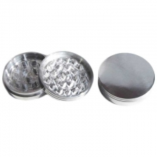 2 Piece Aluminum Grinder 3 Inch with Magnet GRM111