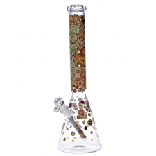 Hoss Glass 7mm Limited Edition 18 Inch Beaker Bong H096-2017