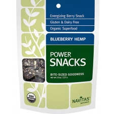 Blueberry Hemp Power Snacks from Navitas Naturals