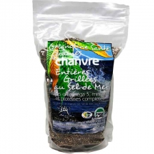 Sea Salt Organic Roasted Hemp Seeds 600g