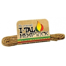 I-Tal Hemp Wick Small Organic Hemp and Beeswax Wick