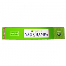 Organic Nag Champa 15g Incense sticks Box