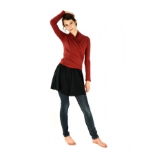 Jeevan Wrap-Around Long Sleeve Shirt