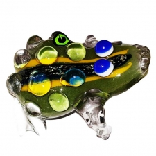 3.5 Inch Dichro Frog Glass Pipe