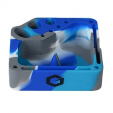 Square Silicone Ashtray with Dab Tool Storage from Greenhouse