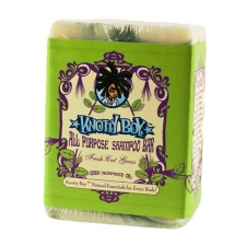 Knotty Boy All Purpose Soap Bar Fresh Cut Grass, 4oz