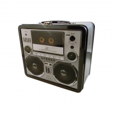 "LunchBox Retro Boombox 7.75"" x 6.75"""