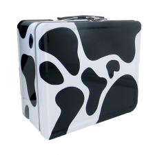 "LunchBox Cow Print 7.75"" x 6.75"""
