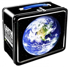 Metal Lunch Box - Planet Earth