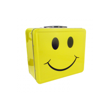 "LunchBox Smiley Face 7.75"" x 6.75"""