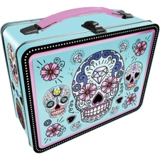 Lunch Box Gen 2 - Sugar Skulls Blue