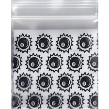Eightball 1x1 Inch Plastic Baggies 100 pcs.