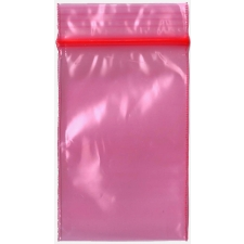 Red 2x3 Inch Plastic Baggies 1000 pcs.