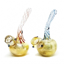 Mini Heady Fumed Glass Bubbler From Collectivo