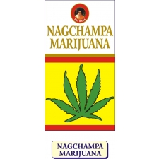 Marijuana Sai Baba Nag Champa Incense Box 12 x 15g Pack