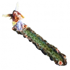 Fairy Praying By The Pond Incense Holder