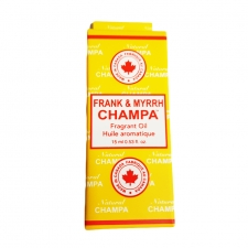Nag Champa Fragrant Oil Bottle 15ml - Frank and Myrrh