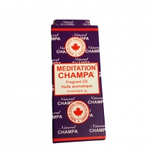 Nag Champa Fragrant Oil Bottle 15ml - Meditation