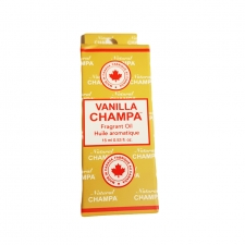 Nag Champa Fragrant Oil Bottle 15ml - Vanilla