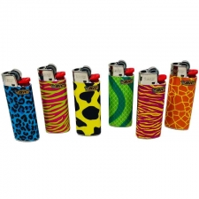 Bic Mini Lighter - Psychedelic Fur Edition