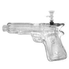 Colt 9mm Pistol Hand Gun Glass Bong