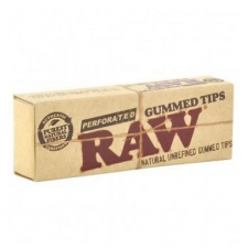 Raw Perforated Gummed Tips Pack