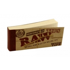 Raw Perforated Wide Tips Pack