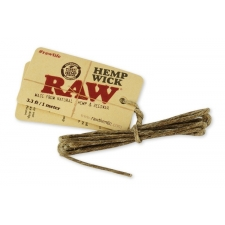 Raw Hemp Wick - 1 meter of Hemp and Beeswax Wick