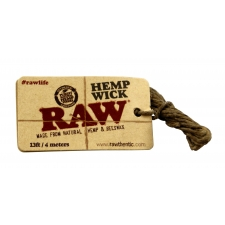 Raw Hemp Wick - 4 meter of Hemp and Beeswax Wick