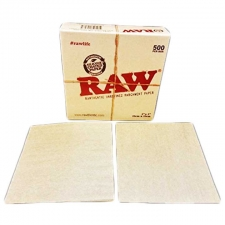 5 x 5 Raw Parchment Paper Sheets - Pack of 500