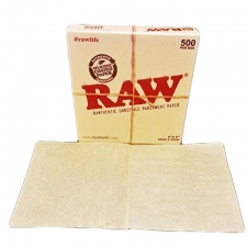 6 x 6 Raw Parchment Paper Sheets - Pack of 500