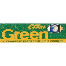 Efka Green Cut Corners Regular Rolling Papers Pack