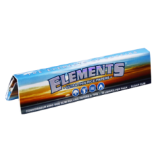 Elements King Size Slim 110mm Connoisseur Rolling Papers with Tips 1