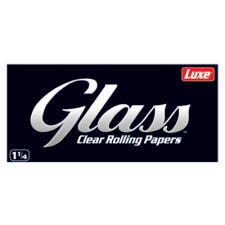 Glass Clear 1 ¼ Rolling Papers 79mm Pack