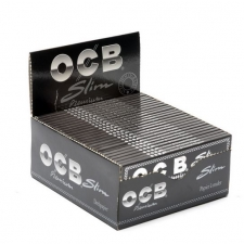 OCB Premium King Size Slim 110mm Rolling Papers Box of 50 packs