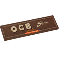OCB Unbleached King Size Slim 110mm Rolling Papers